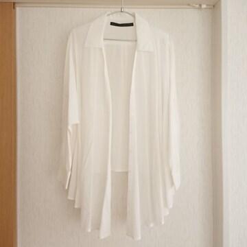 美品★リップサービス★3wayシャツ ブラウス ホワイト/F 1回着用 LIPSERVICE