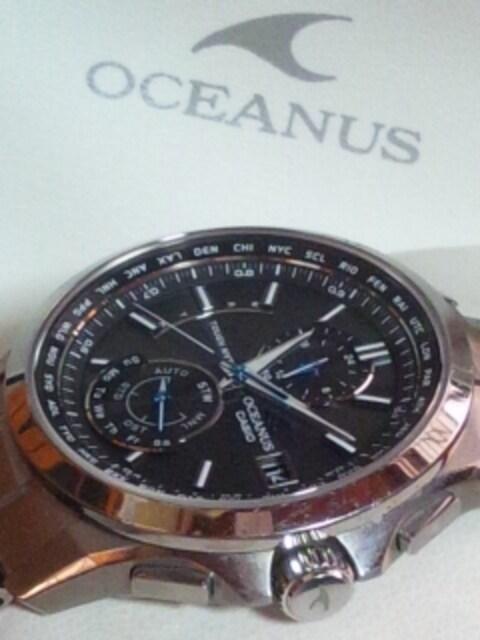 カシオオシアナスOCW-T2500日本製タフソーラー電波腕時計定10万円