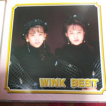 ベストCD WINK BEST 帯なし ウインク
