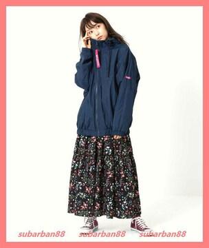 ミルクフェド☆超美品☆Vラインナイロンドルマンブルゾン
