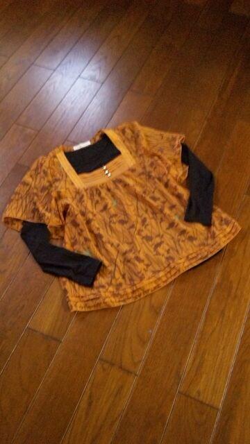 【新同様】GROVE◆シフォン&フレアー袖◆美チュニック  < 女性ファッションの