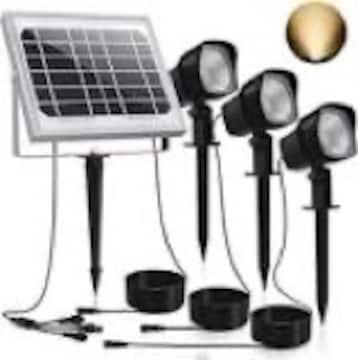 CLY LED ソーラーライト ガーデン パスライト アウトドアスポッ