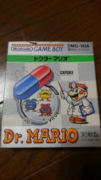 GAMEBOYソフト ドクターマリオ 箱 取説