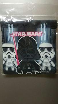 未使用 ミニ巾着 STARWARS/スターウォーズ 帝国軍柄 ¥100