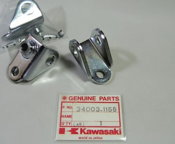 GPZ400 GPZ550 ZX400A ZX550A ステップブラケット1個 絶版