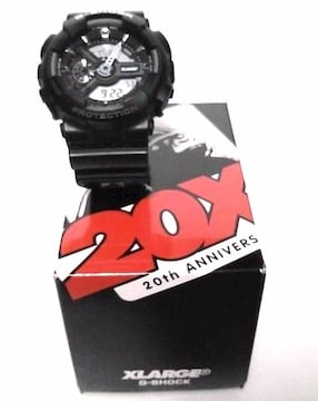 XLARGE×G-SHOCK エクストララージ 20周年コラボ GA-110
