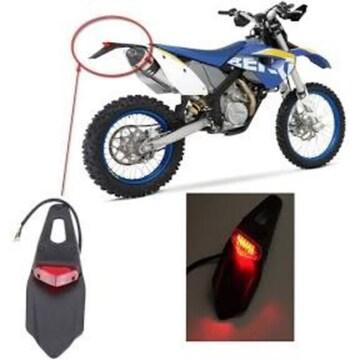 ONGMEIL テールランプ LED レッド バイク 汎用 エンデューロ