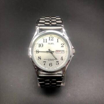 即決 ALBA 腕時計 V733-7A70