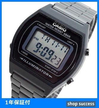 新品 即買■カシオ 腕時計 メンズ B640WB-1A ブラック//00034868