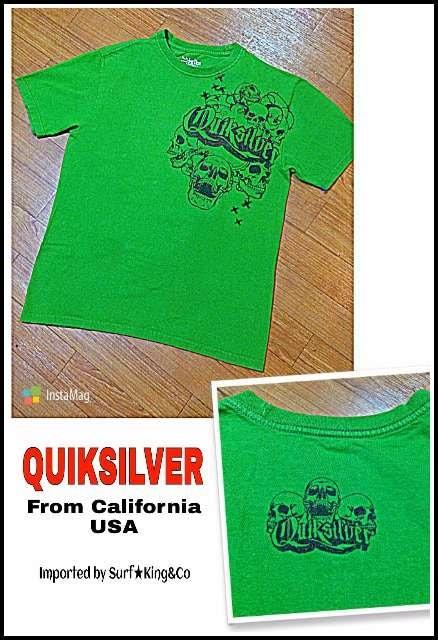 QUIKSILVER-T☆本物USA直輸入モデル!!希少USED激安!!  < ブランドの
