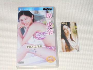 PSP★原史奈 FRAGILE & Stop Over トレカ付 UMD VIDEO