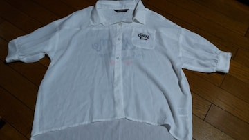 全品送料無料!JN-ロゴシアーシャツ160ホワイト