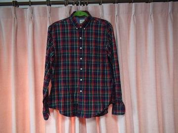 HARVARDのチェックのシャツ(L)!。