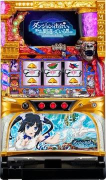 実機 ダンまち/KT◆コイン不要機付◆