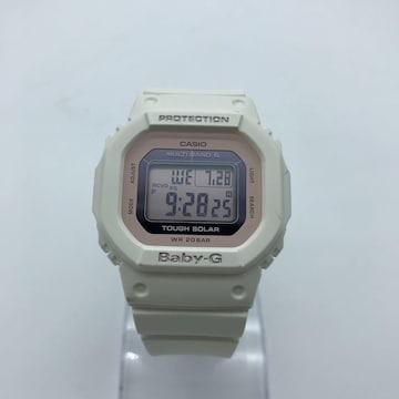 CASIO Baby-G ベビージー BGD-5000 電波ソーラー腕時計 白