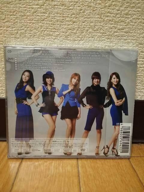 KARA スーパーガール 初回限定盤A CD+DVD 新品 < タレントグッズの