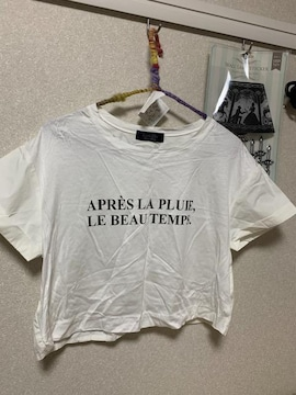 JURSGLITTY  ミニ丈可愛いシャツカットソー美品