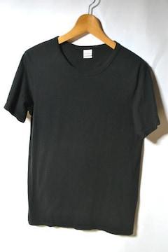 キャブクロージング Tシャツ 5.2オンス 半袖 ブラック メンズ
