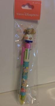 TDS☆ダッフィー 5色ボールペン スプリングヴォヤッジ