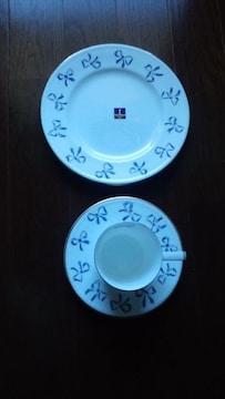 YVES SAINT LAURENT☆モーニングセット☆カップ&プレート
