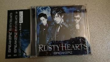 BREAKERZ「RUSTY HEARTS」初回DVD+帯付/DAIGO