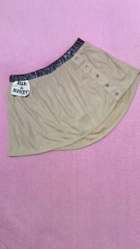 グラマラスジェーンGLAMOROUS JANE/スエード地シャツ風ミニスカート