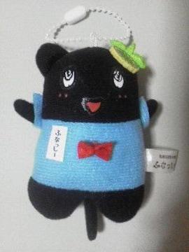 新品〓ふなっしー★黒猫ぬいぐるみマスコット♪