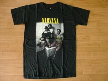 NIRVANA ニルヴァーナ Tシャツ 黒 M
