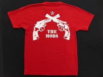 The MODS(ザ モッズ)[GANGSTAR/2丁拳銃]Tシャツ(赤)M/森山達也