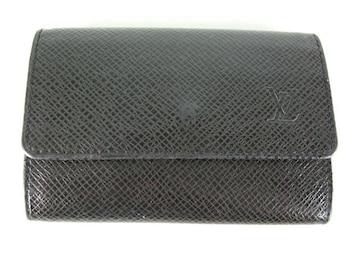 ルイヴィトンタイガ6連キーケース黒レザー