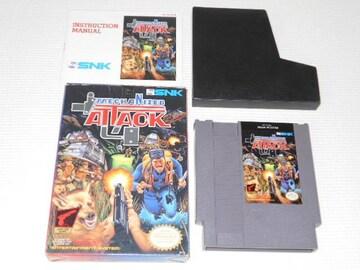 FC★MECHANIZED ATACK NES 海外版(国内本体動作不可)