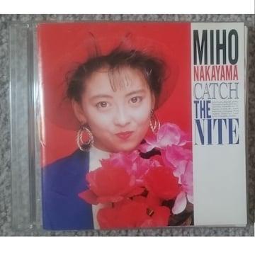 KF  中山美穂 CATCH THE NITE GOLD CD 完全限定盤