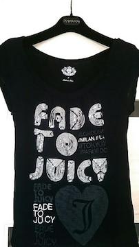 JUICY COUTURE ジューシークチュール キラキラ★スパンコールロゴ入★Tシャツ★サイズP