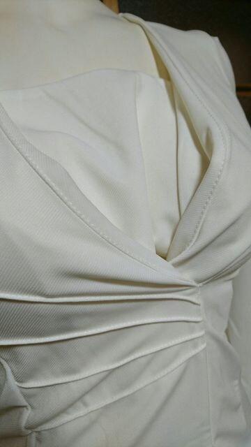 白 ワンピスーツ < 女性ファッションの