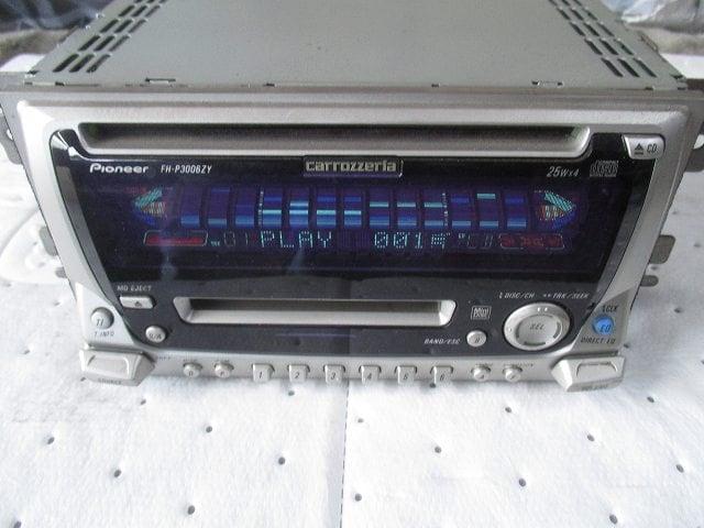 ♪ カロッツェリア  トヨタ/ダイハツ純正オプション CD/MDデッキ FH-P3006ZY < 自動車/バイク