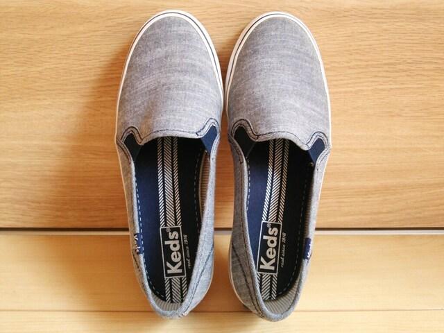 keds*スリッポン*美品ケッズ*靴スニーカー  < ブランドの