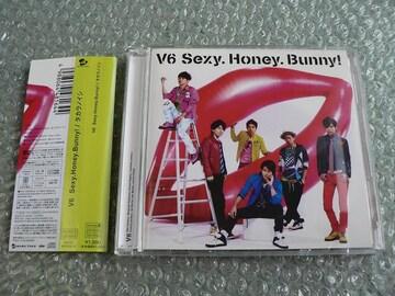 V6『Sexy Honey Bunny』 初回限定盤A【Honey盤】CD+DVD/他に出品