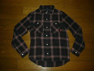 WTAPSダブルタップスUNIONチェックシャツS薄手ユニオン