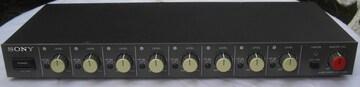 SONY/SRP-X1008高級プロ用オーディオミキサ中古完動0511/No1