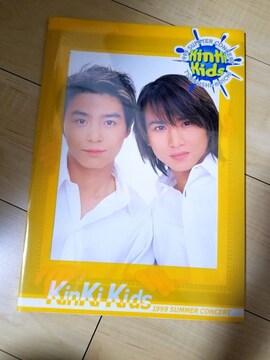 KinKi Kids 1999サマーコンサートパンフ 堂本剛 堂本光一
