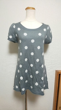 natural coutureのニットワンピ(106)