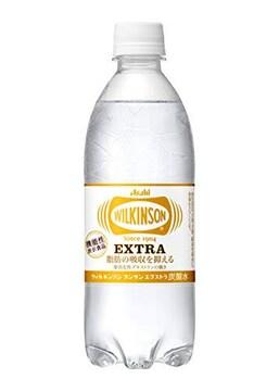 アサヒ飲料 ウィルキンソン タンサン エクストラ 炭酸水 490ml×