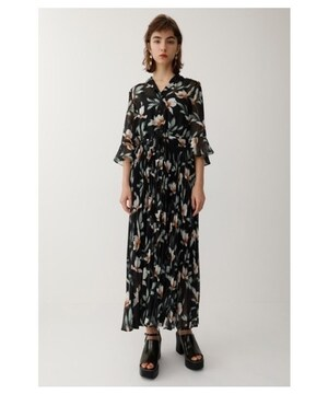 MOUSSY FLOATING FLOWER DRESS