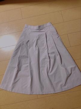 UNIQLO☆ラベンダーピンク膝下スカート