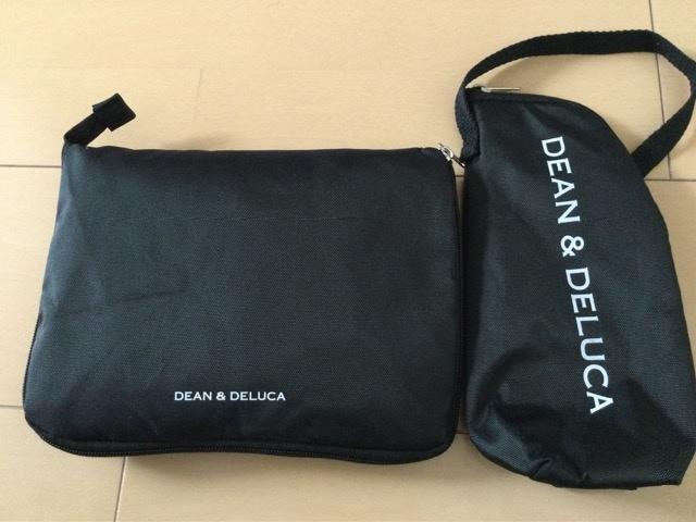 送料込 グロー付録DEAN&DELUCAレジカゴバッグ+保冷ボトルケース