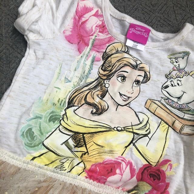 18M新品 ディズニー プリンセス  ベル チュチュワンピース < キッズ/ベビーの