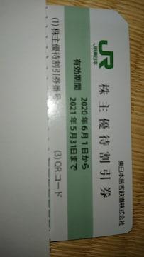 東日本旅客鉄道株主優待割引券1枚