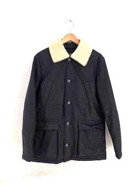 A.P.C.(アーペーセー)RUE MADAME PARIS 襟ボア ワックスコーティングジャケットジャケッ