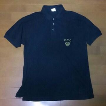 MCM o・t・c ポロシャツ ブラック Mサイズ 古着 中古 ンテージ