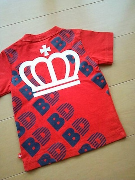 中古Tシャツ80赤ベビードールBABYDOLLベビド